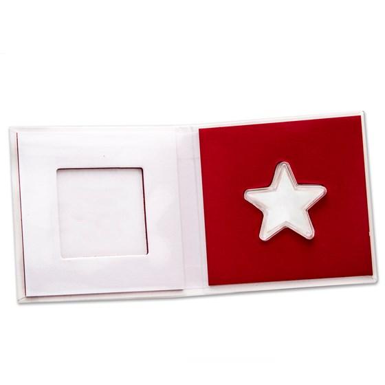 5x 1 gram Valcambi Gold Star Display Box (w/Capsule)