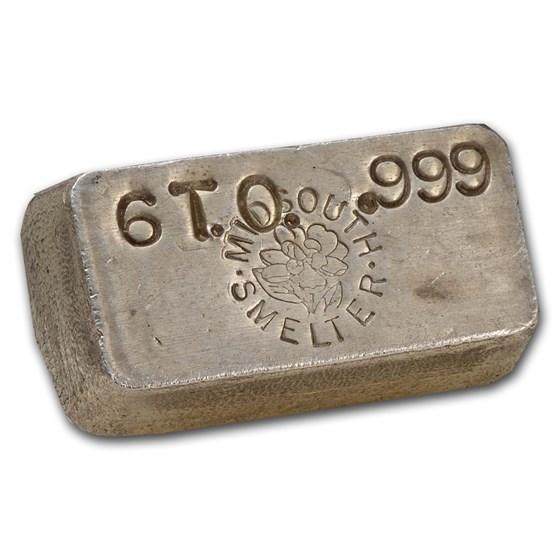 6.0 oz Silver Bar - Midsouth Smelter