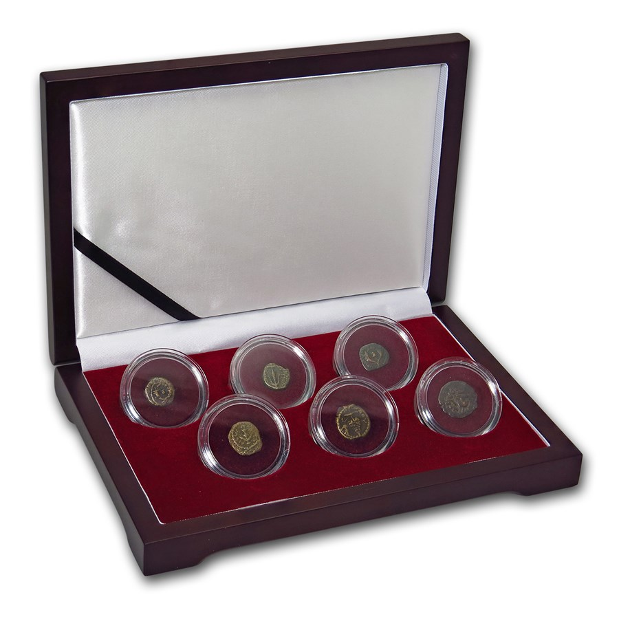 6-Coin Collection The Jewish Wars with Rome
