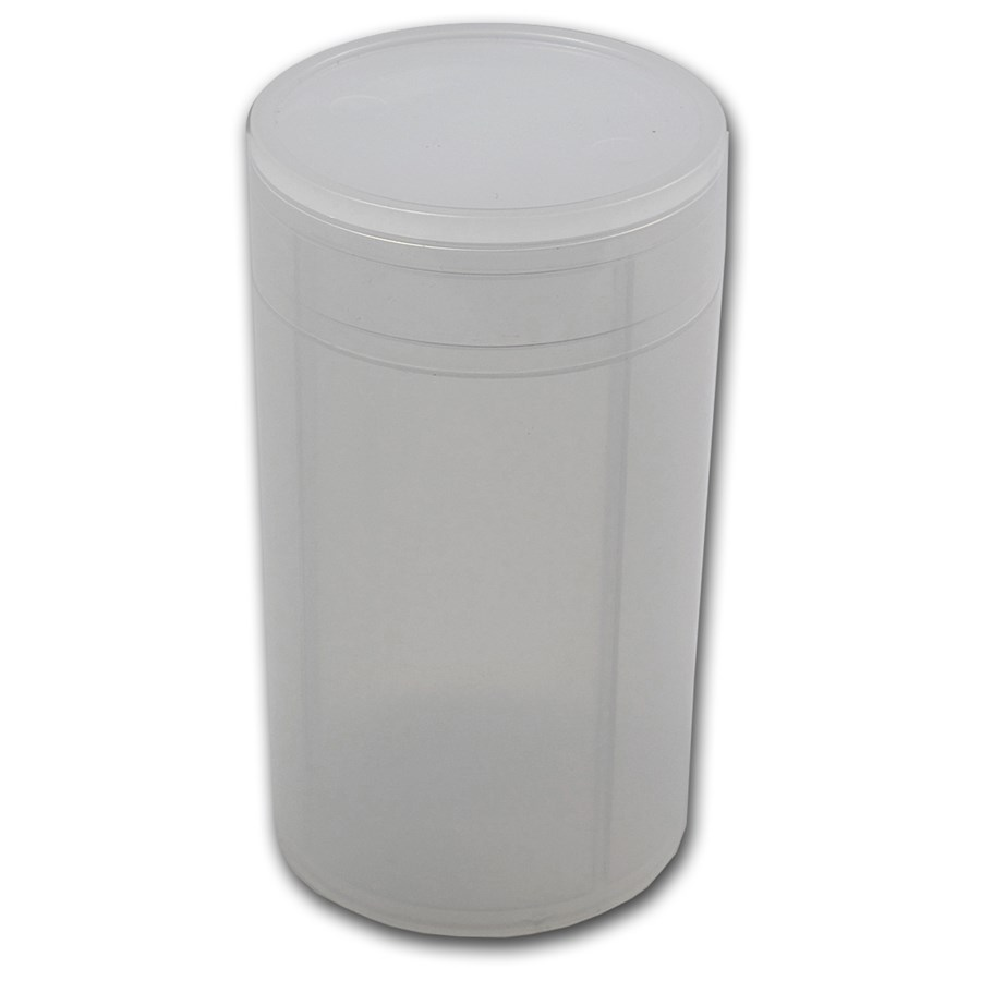 64mm (5 oz) Silver Round/Coin Tube
