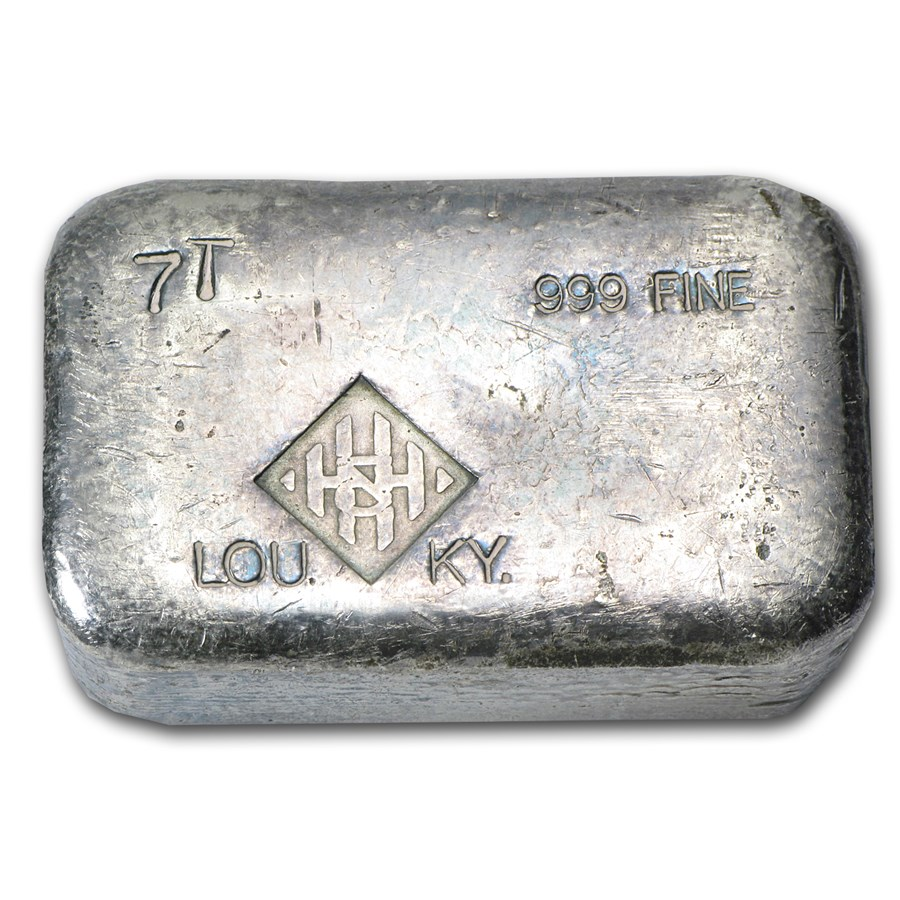 7 oz Silver Bar - H&H Mining Inc.