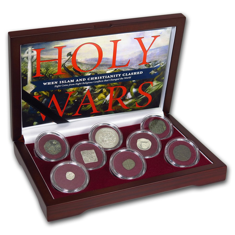 8-Coin Holy Wars Religious Conflict Collection