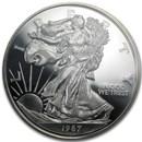8 oz Silver Round - Silver Eagle (Random Year)