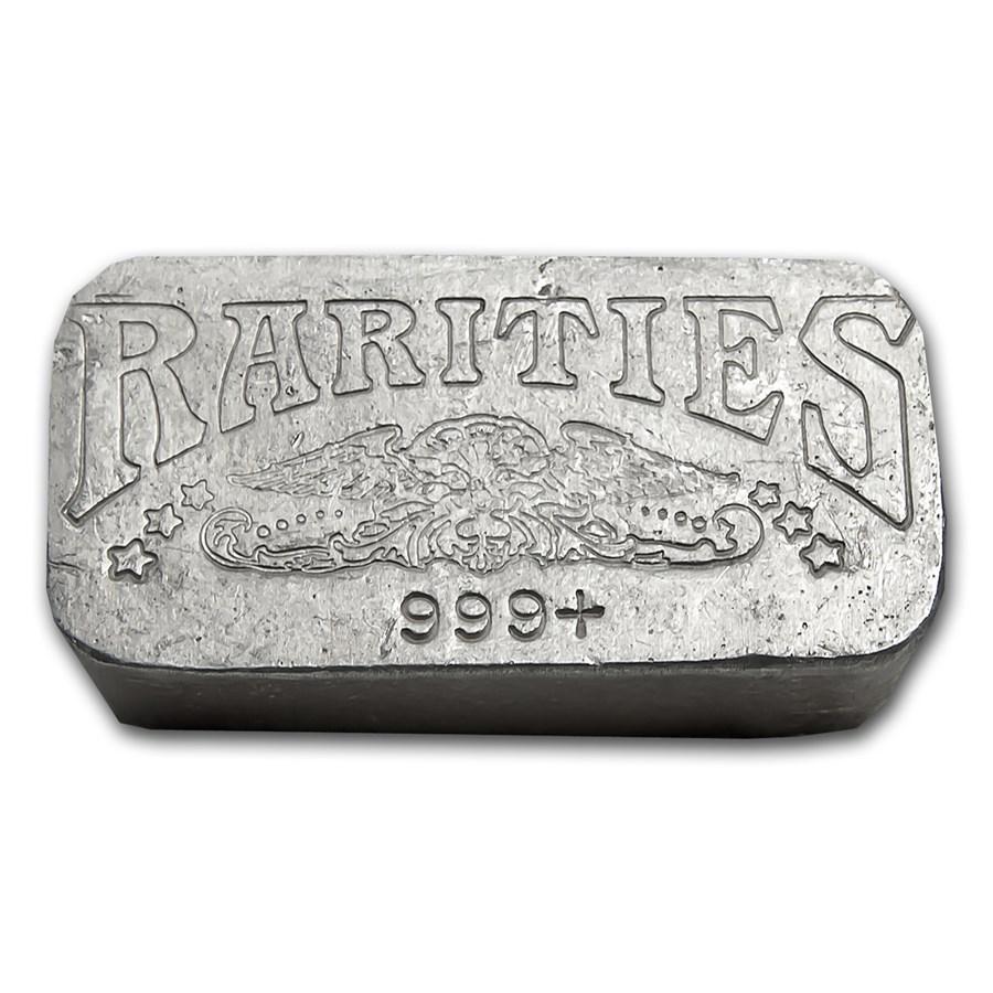 9.68 oz Silver Bar - Rarities Mint (Poured)