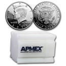 90% 1992 to Date Silver Kennedy Half Dollar 20-Coin Roll Proof