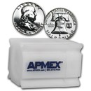 90% Silver Franklin Halves $10 20-Coin Roll Proof