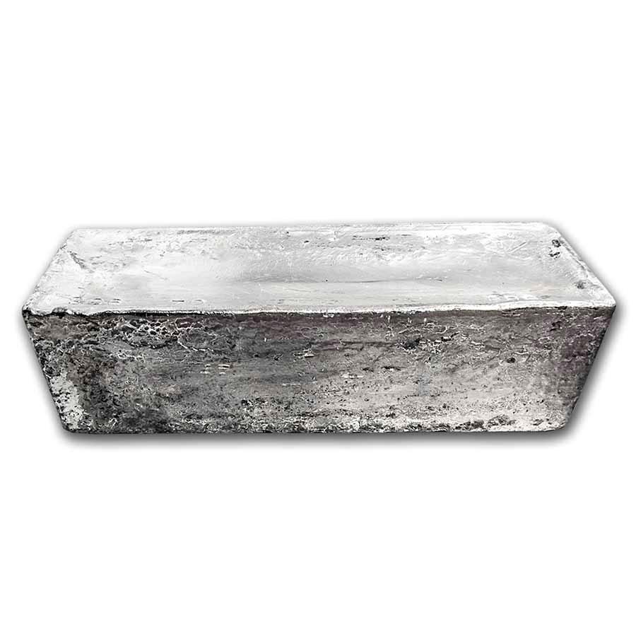 972.5 oz Silver Bar - AMMC