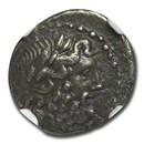 Achaean League, Silver Triobol/Hemidrachm (1st cent. BC) XF NGC