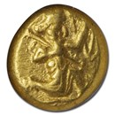 Achaemenid Persia Gold Daric (circa 450 BC) AU NGC