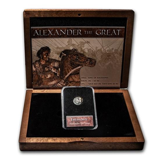Alexander the Great - Hemiobol Coin Presentation Set