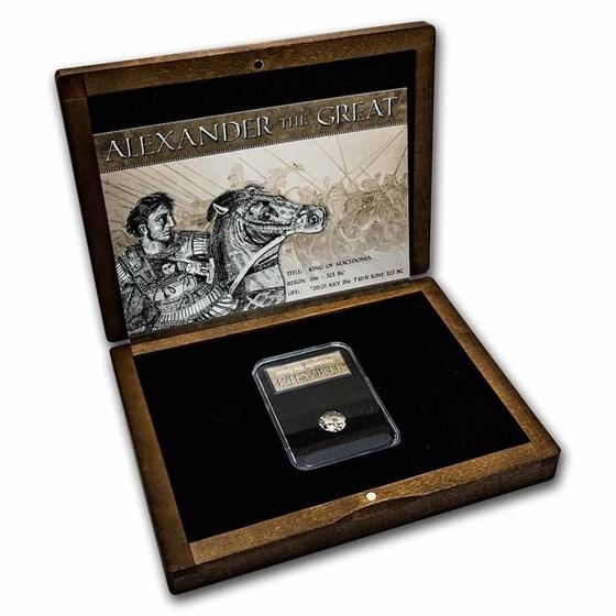 Alexander the Great - Silver Drachm Presentation Set