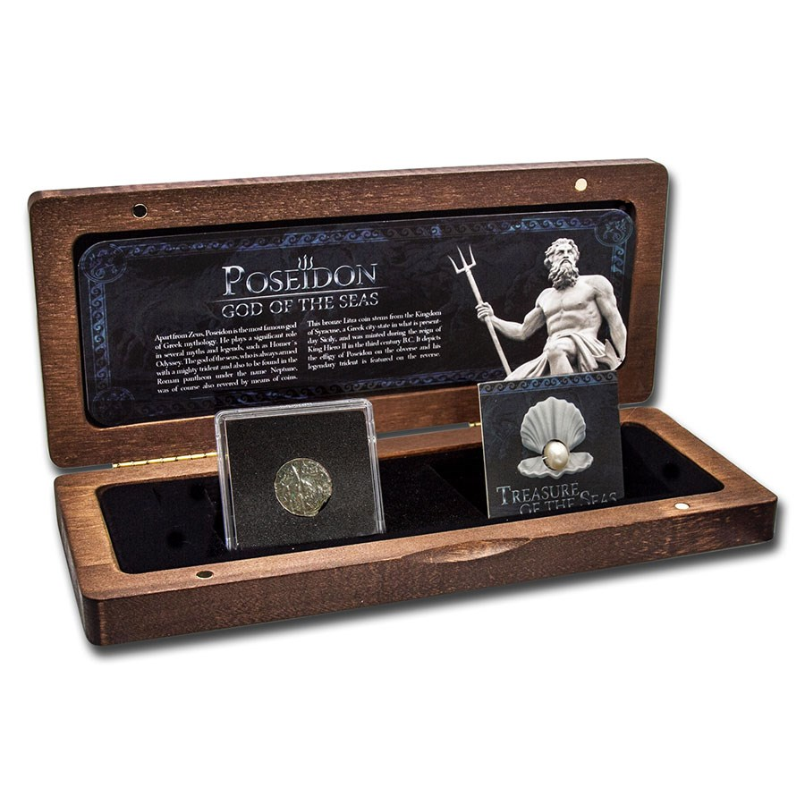 Ancient Coins of Syracuse: The Treasure of the Seas Set