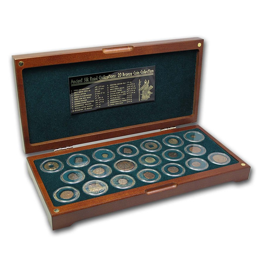 Ancient Silk Road Bronze Collection (20 coins)