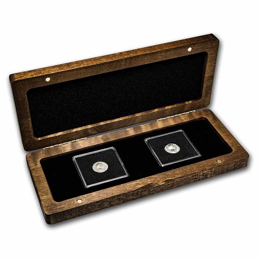 Antoninus Pius & Faustina: Silver 2-Coin Presentation Set