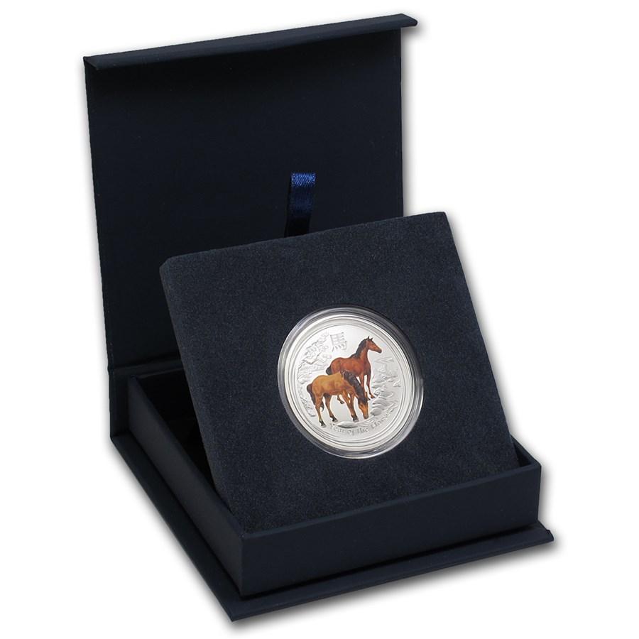 APMEX Gift Box - 1/2 oz Perth Mint Silver Coin Series 2