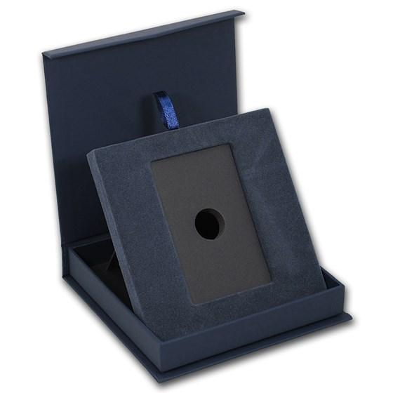 APMEX Gift Box - 1 oz Argor-Heraeus Gold Bar/Round (w/Assay)