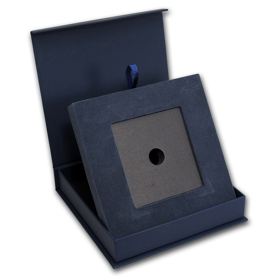 APMEX Gift Box - 100 Gram PAMP Suisse Silver Bar (w/Assay)