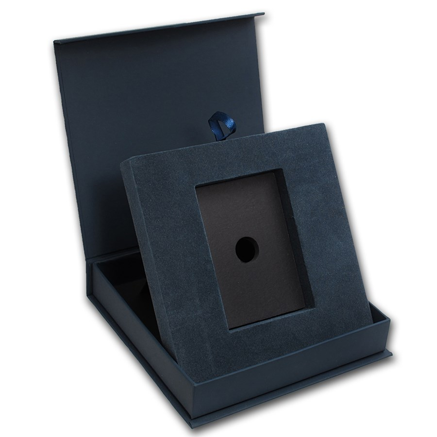 APMEX Gift Box - 5 oz PAMP Suisse Silver Bar (w/Assay)
