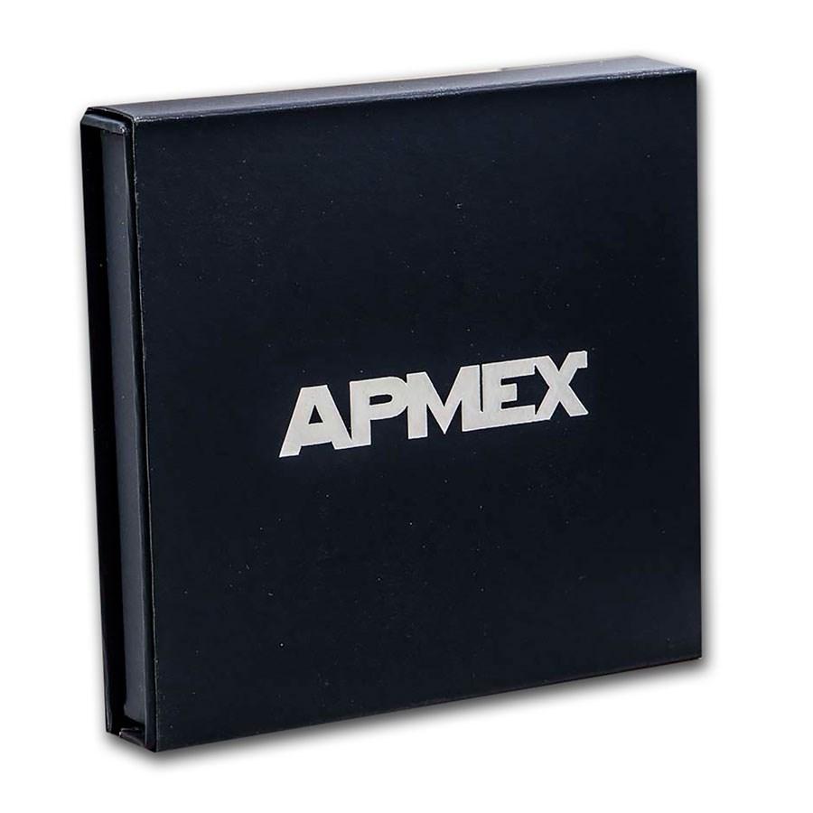 APMEX Gift Box - 5 oz U.S. Mint ATB Silver Coin w/Z10 Capsule