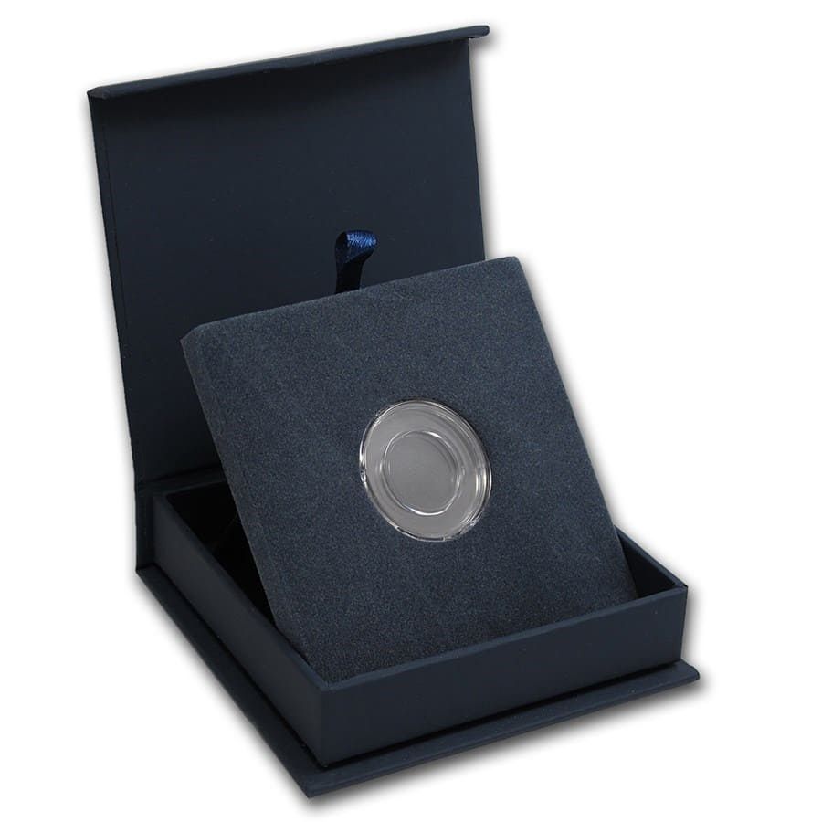 APMEX Gift Box - Includes 16 mm Direct Fit Air-Tite Holder