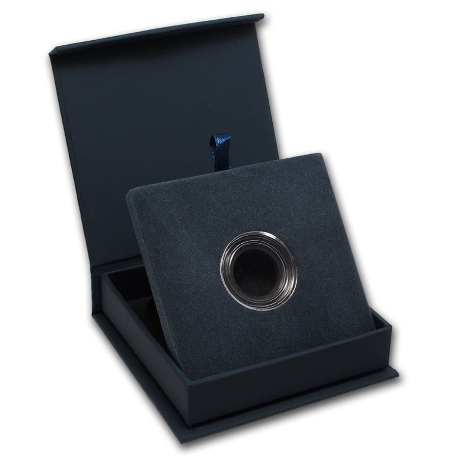 APMEX Gift Box - Includes 22 mm Direct Fit Air-Tite Holder