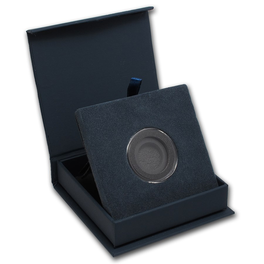 APMEX Gift Box - Includes 25 mm Air-Tite Holder with Gasket