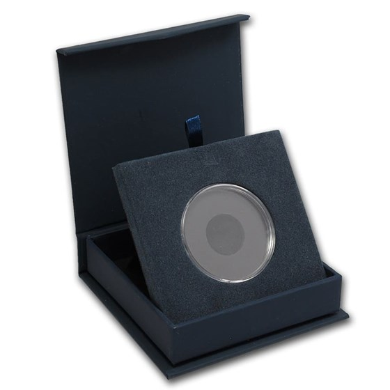 APMEX Gift Box - Includes 40 mm Direct Fit Air-Tite Holder