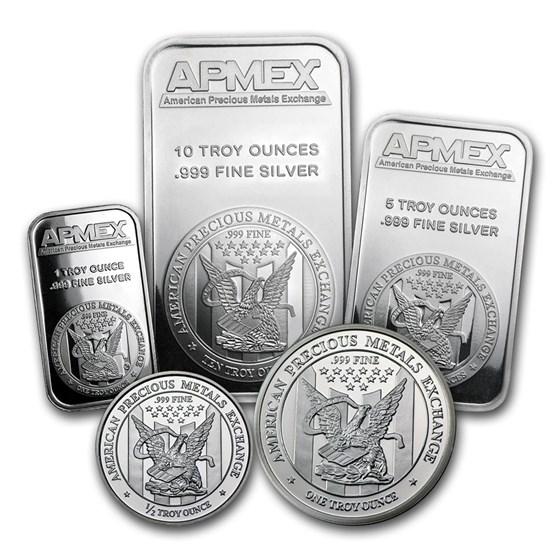 APMEX Silver Bundle