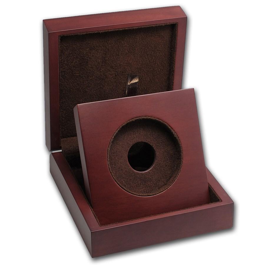 APMEX Wood Gift Box - 10 oz Perth Mint Gold Coin Series 1 & 3