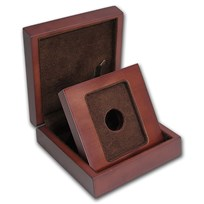 APMEX Wood Gift Box - MintDirect® Single in TEP