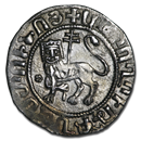 Armenia AR Double Tram Levon I (1198-1219 AD) XF (Crusades)