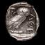 Athens AR Tetradrachm Owl (440-404 BC) Ch AU NGC (Scuff)