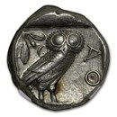 Athens AR Tetradrachm Owl (440-404 BC) Ch XF NGC (Parliament Col)