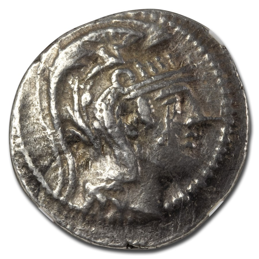 Attica Athens Silver Tetradrachm (2nd-1st century BC) XF NGC