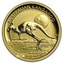 Australia 1/10 oz Gold Kangaroo/Nugget BU (Random Year)