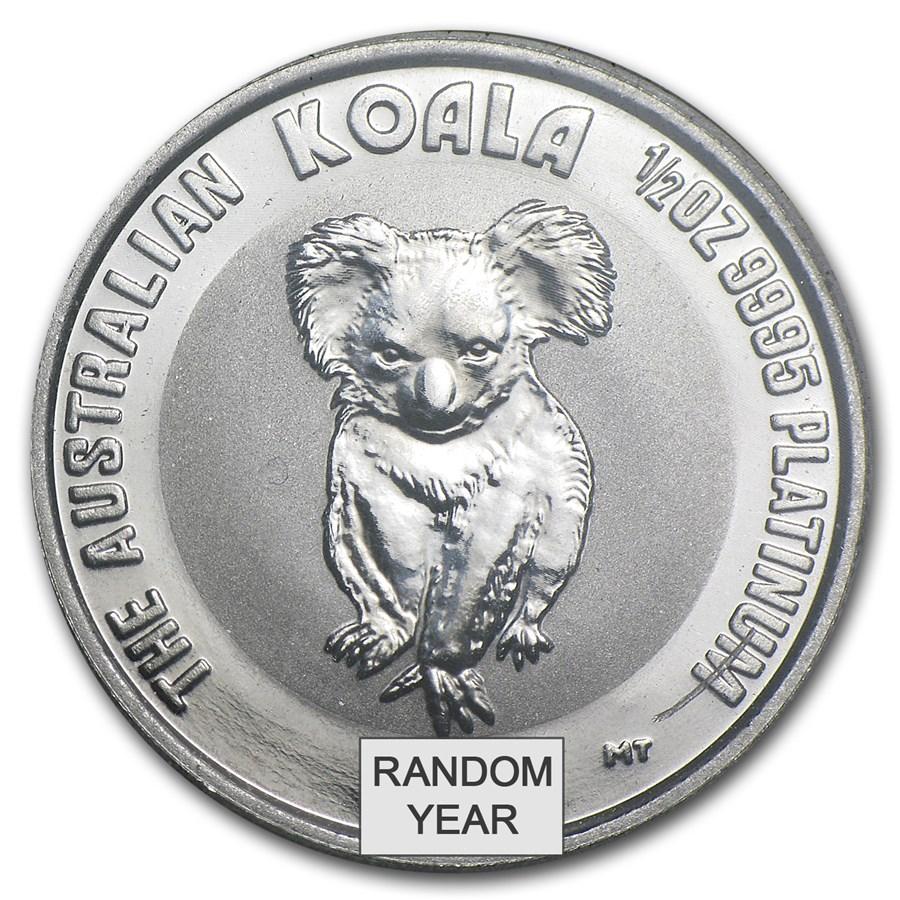 Australia 1/2 oz Platinum Koala BU (Random Year)