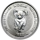 Australia 1/4 oz Platinum Koala BU (Random Year)