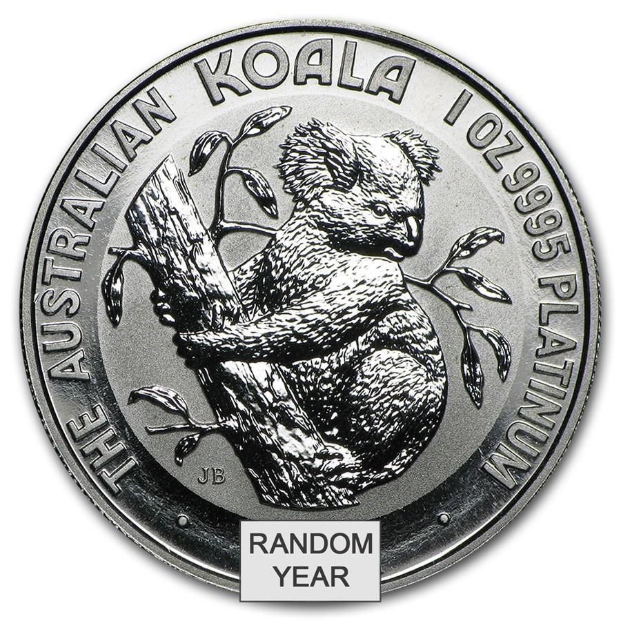 Australia 1 oz Platinum Koala BU (Random Year)