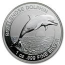 Australia 1 oz Silver $1 Dolphin (Abrasions)