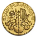 Austria 1 oz Gold Philharmonic BU (Random Year)