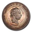 Austria AR Medal Franz Joseph I Late 19th Century SP-63 PCGS