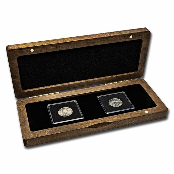 Austria-Hungary Dual Monarchy 2-Coin Presentation Set
