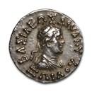 Bactria Indo-Greeks AR Drachm Zoilos I Dikaios (150-130 BC) VF