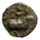Bactria Silver Drachm Biblical Coin of the Magi Story Album