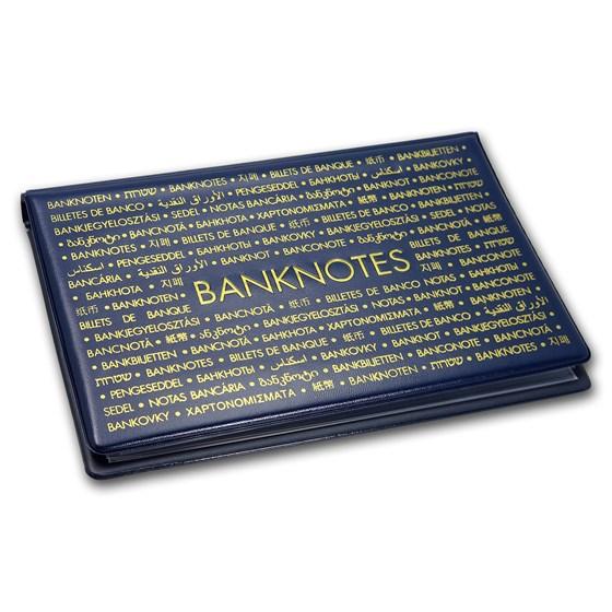 "Banknote Pocket Album - For Bank Notes 8-1/4 x 4-7/8"""