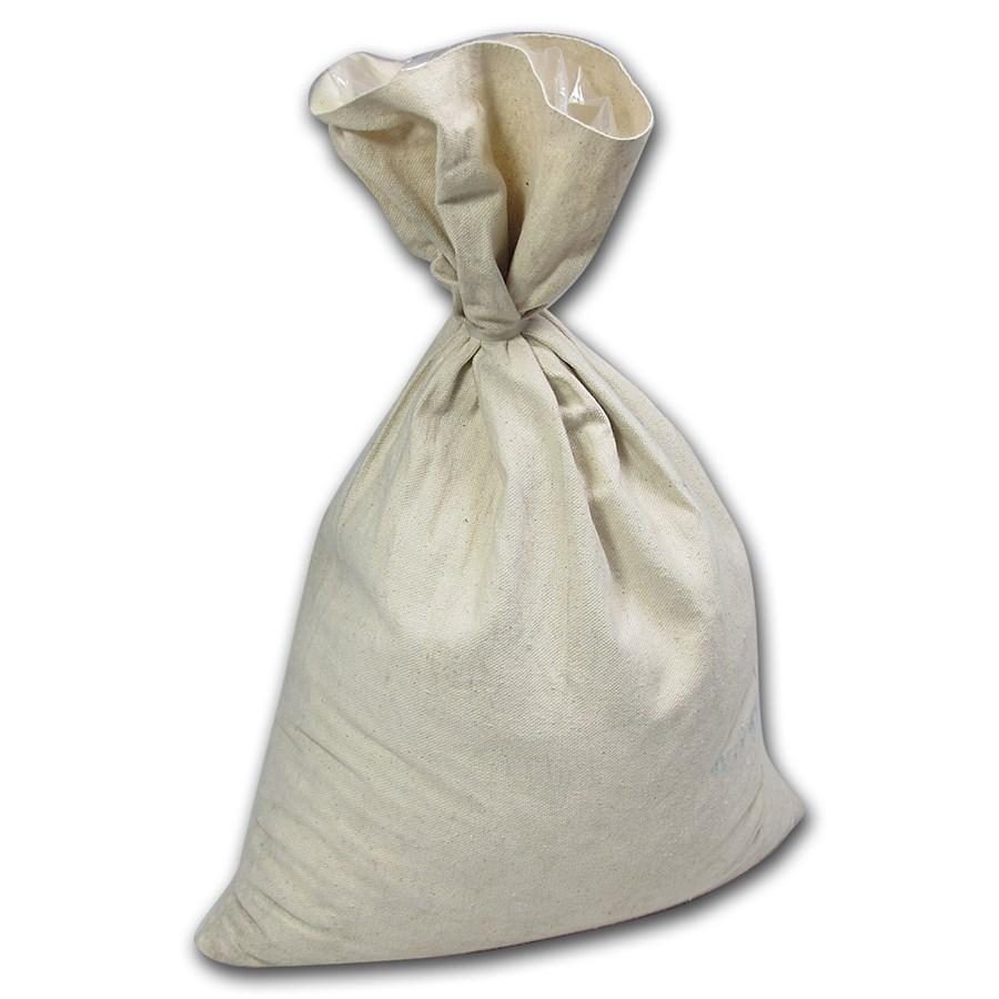 Blank 12 X 19 Money Bag - Holds $1,000+ Coins (Heavy Duty)