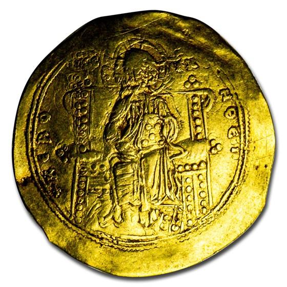 Byzantine AV Hyperpyron John II Comnenus (1118-1143 AD) Ch VF