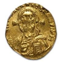 Byzantine AV Solidus Justinian II (685-695 AD) MS NGC