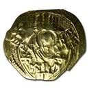 Byzantine EL/AV Hyperpyron Andronicus II (1295-1320 AD) VF