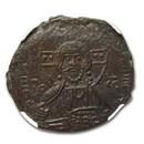Byzantine Empire Anonymous AE Follis (1028-1042 AD) MS NGC